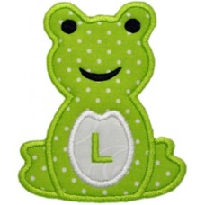 Frog Applique Monogram
