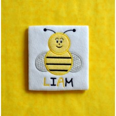 Buzzy Bee Applique
