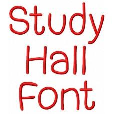 Study Hall Font