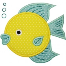 Fish 5 Applique