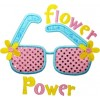 Flower Power Sunglasses Applique