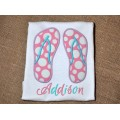 Flip Flops Applique