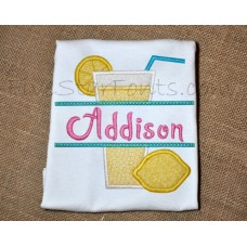 Split Lemonade Applique