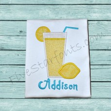 Lemonade Applique