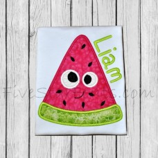 Silly Sweet Watermelon Applique