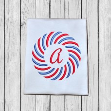 Color Burst-Sun Burst Monogram