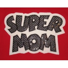 Exclusive SUPER MOM Applique