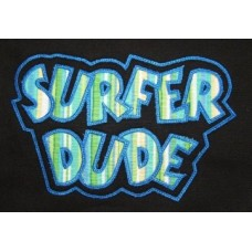 Exclusive SURFER DUDE Double Applique