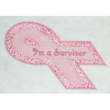 FREE Breast Cancer Double Applique Design