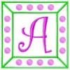 Sweet Dots - Monogram Font 41