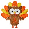 Turkey Owl Applique Font