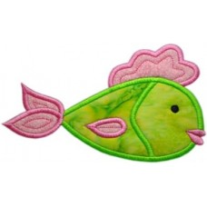 Kissy Fish Applique