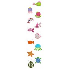 Under the Sea Appliques- 12 Design Set