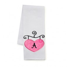 Heart Boutique Sign Applique Monogram