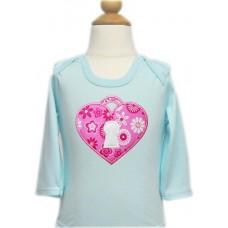 Heart Keyhole Locket Valentine Applique