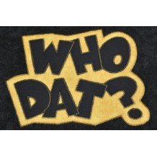 Exclusive WHO DAT Double Applique