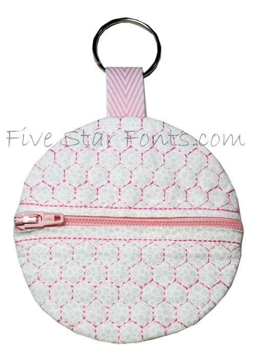 Golf Tee Holder Embroidery Design Ith