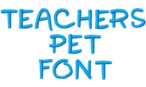 FREE - Teachers Pet Font
