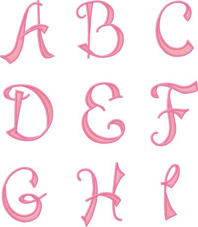 pretty letters