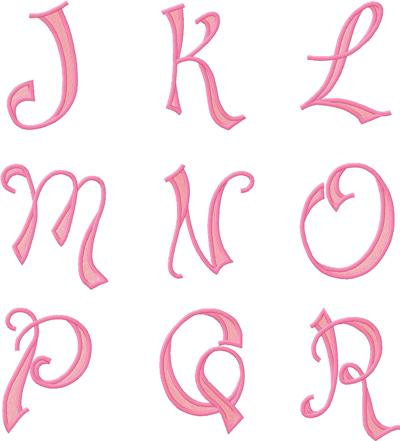 looking pretty monogram font 28