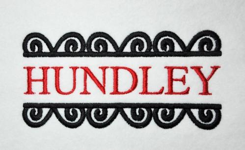 Fashion week Fonts stylish name plates for lady
