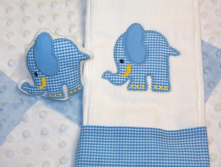 ELEPHANT APPLIQUE, crochet pattern, video tutorial free