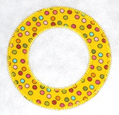 FREE Circle Applique Frame Design