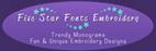 Five Star Fonts