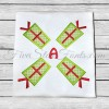 Gift Present Applique Monogram