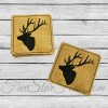 Elk Coasters In the Hoop
