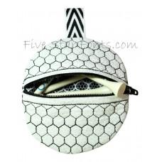Golf Tee Holder In the Hoop