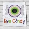 Eye Candy Eyeball Applique