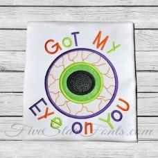 Eye On You Applique