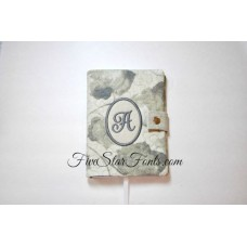 Monogram 6X4 Spiral Notebook Cover In the Hoop