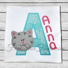 Kitty Applique Font