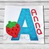 Strawberry Applique Font