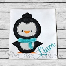 Cute Penguin Applique