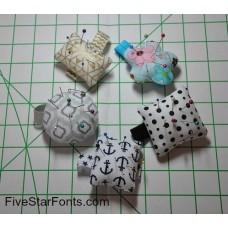 Wrist Pin Cushions In the Hoop