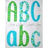 Jude Applique Font 2 Styles of Finishing Stitches  Quick Stitch