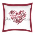 You Make My Heart Sing Embroidery Design