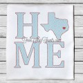 Home State TX Quick Stitch Designs Texas