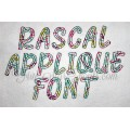 Rascal Applique Font Quick Bean Stitch