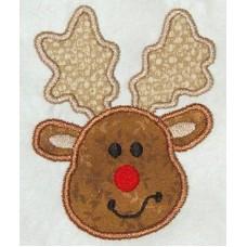 FREE - Christmas Reindeer Applique Design