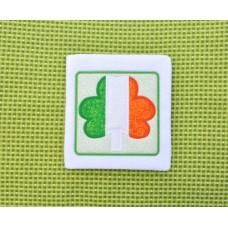 Irish Flag Shamrock Applique