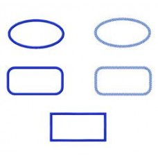 FREE - Rectangular Applique Shapes!