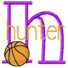 Basketball - Monogram font 19