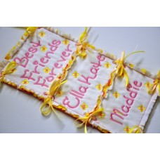 BFF Embroidery Font - Plus FREE In the Hoop Banner