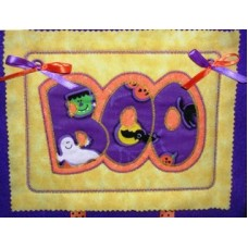 Exclusive BOO Double Applique - BONUS ITH Project