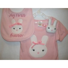 Sweet Bunny Snuggly and Matching Applique