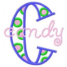 Sassy Dots - Monogram Font 18